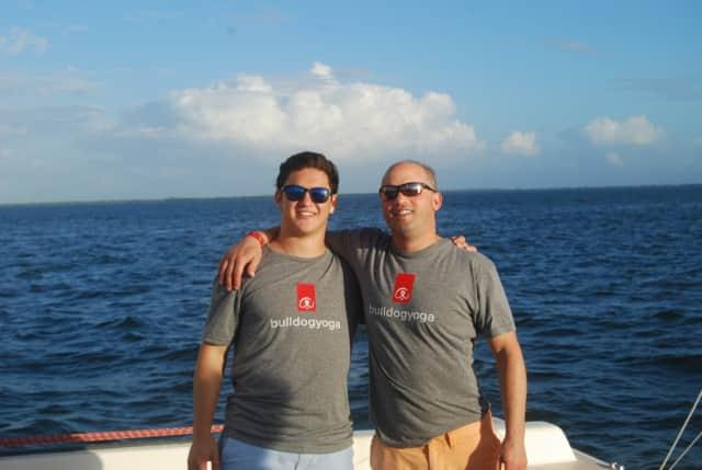 Matt Grotta and father Tom, of Armonk.