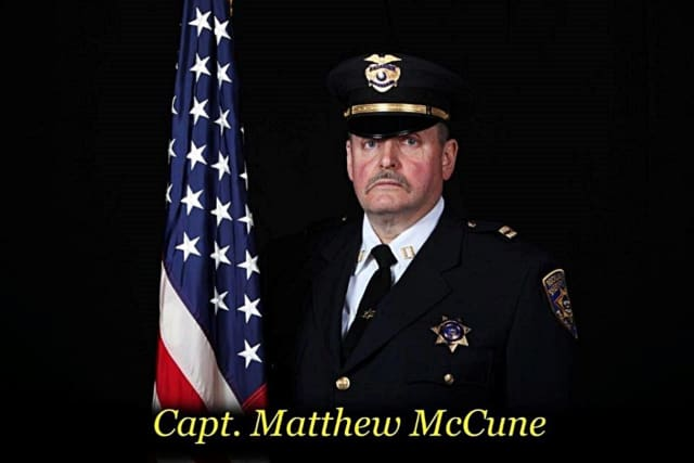 Rockland County Sheriff's Capt. Matthew J. McCune passed away earlier this week.