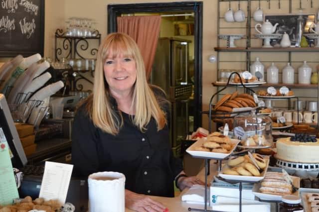 Maureen Heller of Wyckoff owns La Vie En Rose Bakery Café in Waldwick.