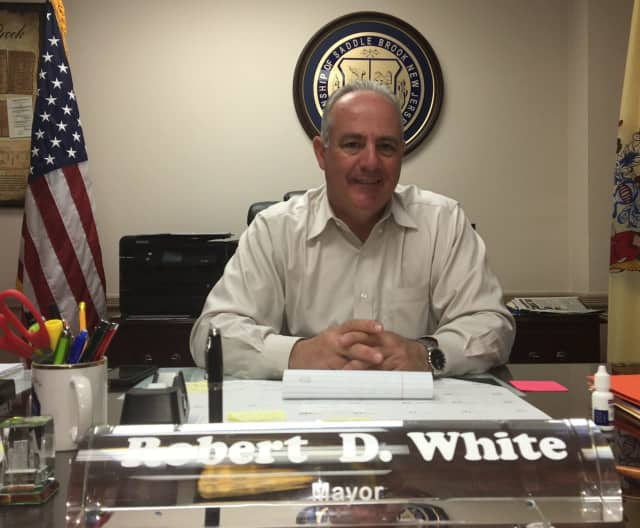 Saddle Brook Mayor Robert White