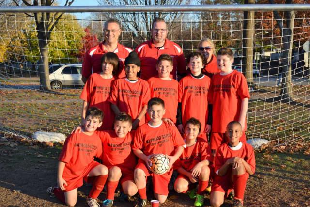 Maywood U11 Soccer Team.