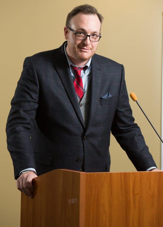 Michael McCoy, associate professor at SUNY Orange.