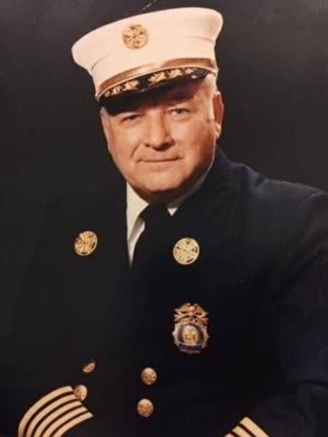 """William J. McMahon Jr., who was known as """"Bill,"""" retired from the White Plains Fire Department in 1986. He left behind a legacy of caring that, firefighters say, that would be hard to match. McMahon died Monday at the age of 93."""