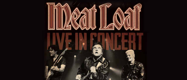 Meat Loaf will perform Nov. 19 at the Bergen Performing Arts Center in Englewood.