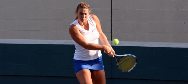 The CACC has named Concordia's Constanza Mecchi as its 2015 Women's Tennis Player of the Year.