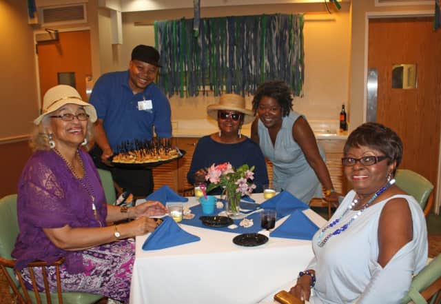 The Inn, a senior living community, recently celebrated its 35th birthday with a clambake.