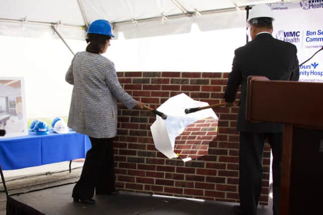 Bon Secours Community Hospital has begun construction on a $40 million project affiliated with the Westchester Medical Center Health Network.