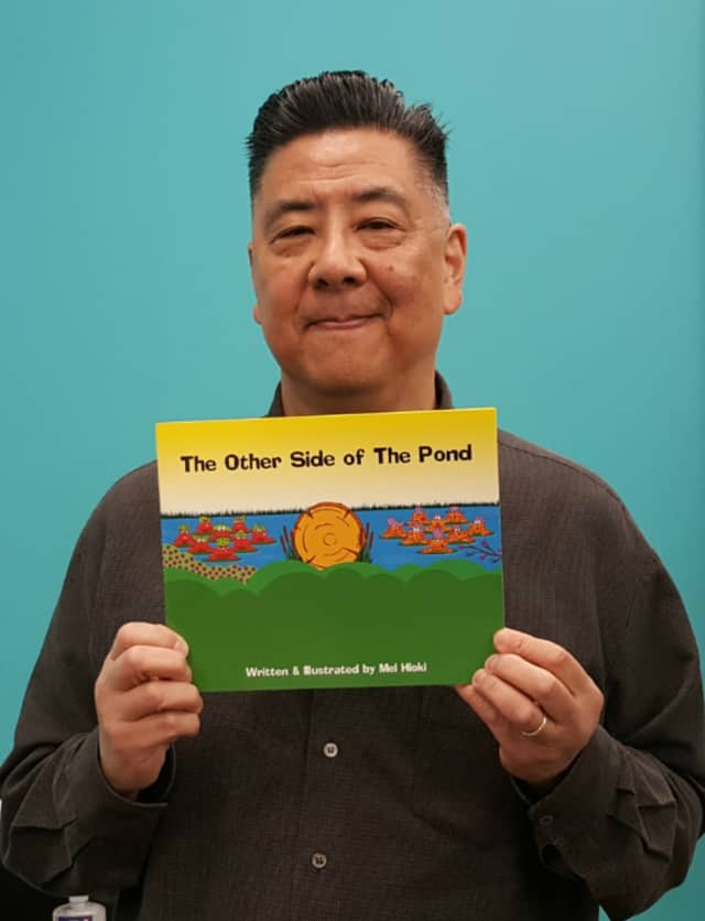 "Mel Hioki will read his book ""The Other Side of the Pond."""