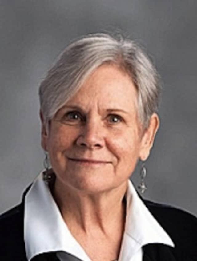 Librarian Melissa Heckler.