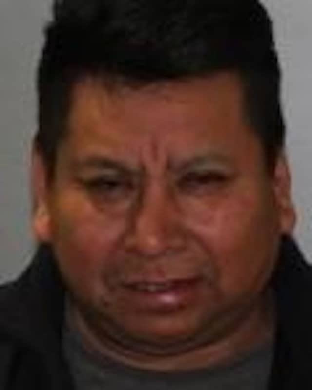 Vincente Mendoza of Port Chester was charged with DWI after being stopped for erratic driving.