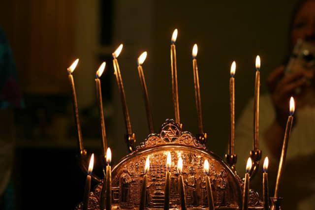 The Menorah Lighting ceremony will be held at 5 p.m.