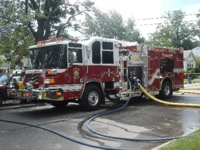 Firefighters responded to a Saddle Brook fire.
