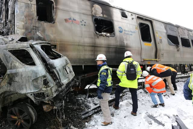 Six people were killed when a Metro-North train crashed Feb. 3 in Valhalla.