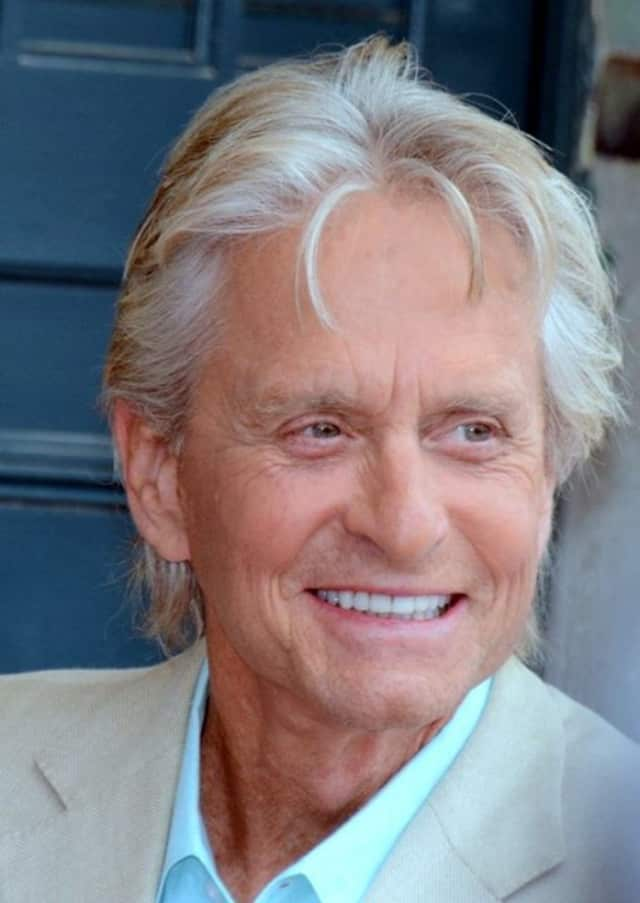 Actor Michael Douglas of Bedford turns 71 on Friday.