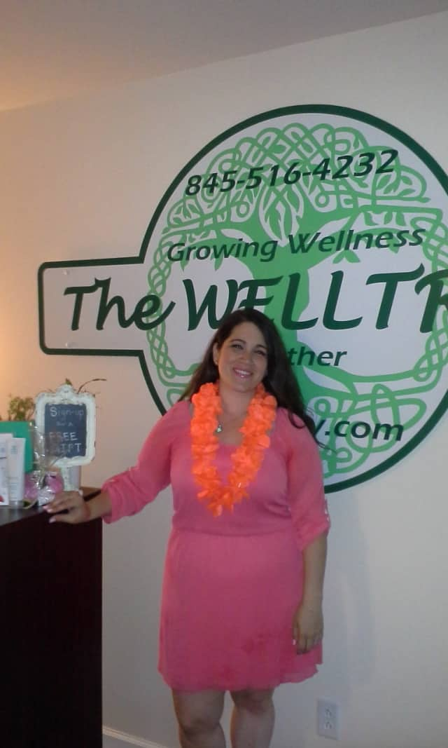 Michelle Vargas, LMT, of WellTree Wellness Center in Red Hook.