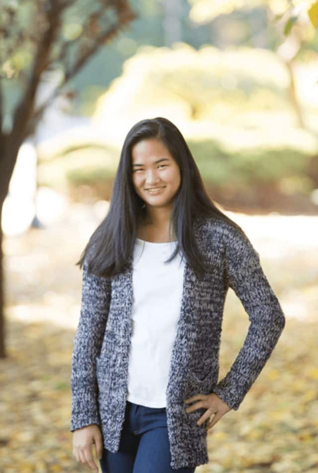 Cresskill High School student Michelle Yu