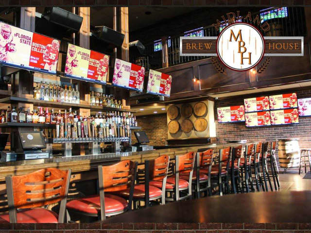 With 48 beers on tap and 50 TVs for watching sports, Midland Brew House is primed to become a new hot spot in Saddle Brook.