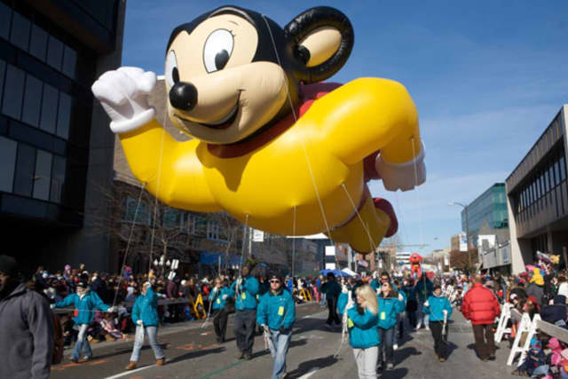Mighty Mouse will headline this year's Thanksgiving Day Parade in New Rochelle.