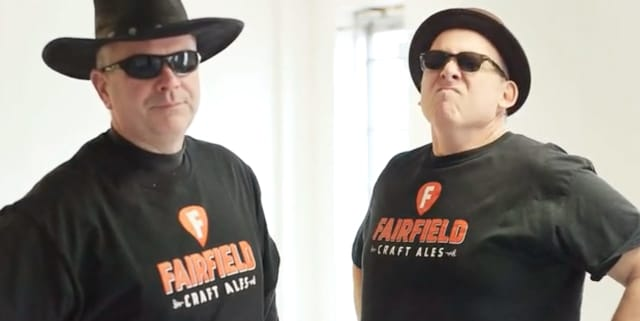 Mike Borruso and Joe Bow made a blues-inspired video for their Kickstarter campaign, for Fairfield Craft Ales.