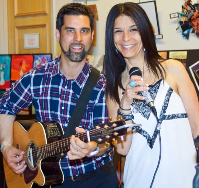 Mike and Miriam Risko of the Mike Risko Band will perform at The Maya Riviera Mexican restaurant in Briarcliff Manor on Saturday to raise money for Ossining High School Drama Club's trip to the Scotland Fringe Festival.