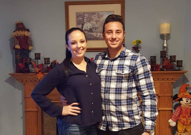 Siblings Angela and Michael  Bezzina motivated each other to graduate from Berkeley College with 4.0 GPAs.