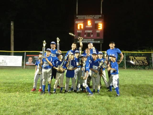 The Blue Dragons are the 2015 Bergenfield Little Leage minor division champions. For the first time this year, the 31-year old organization will sponsor softball for girls 10 and under to 14.