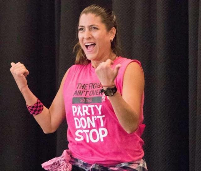 """""""Zumba with Miss Paulette"""" is one of the wellness events of the library's """"On Your Mark, Get Set … Read!"""" event."""