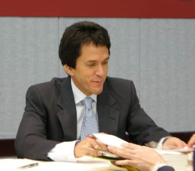 Mitch Albom will speak at the Chappaqua Library on Tuesday, Nov. 10, at 7 p.m.