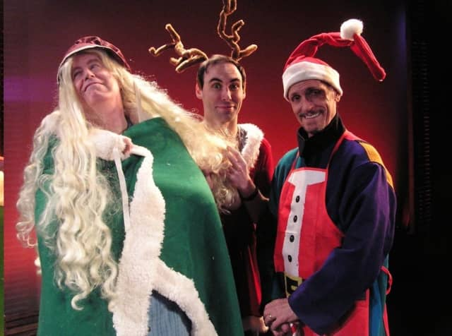 The Garage Theatre Group will perform 'Every Christmas Story Ever Told.'