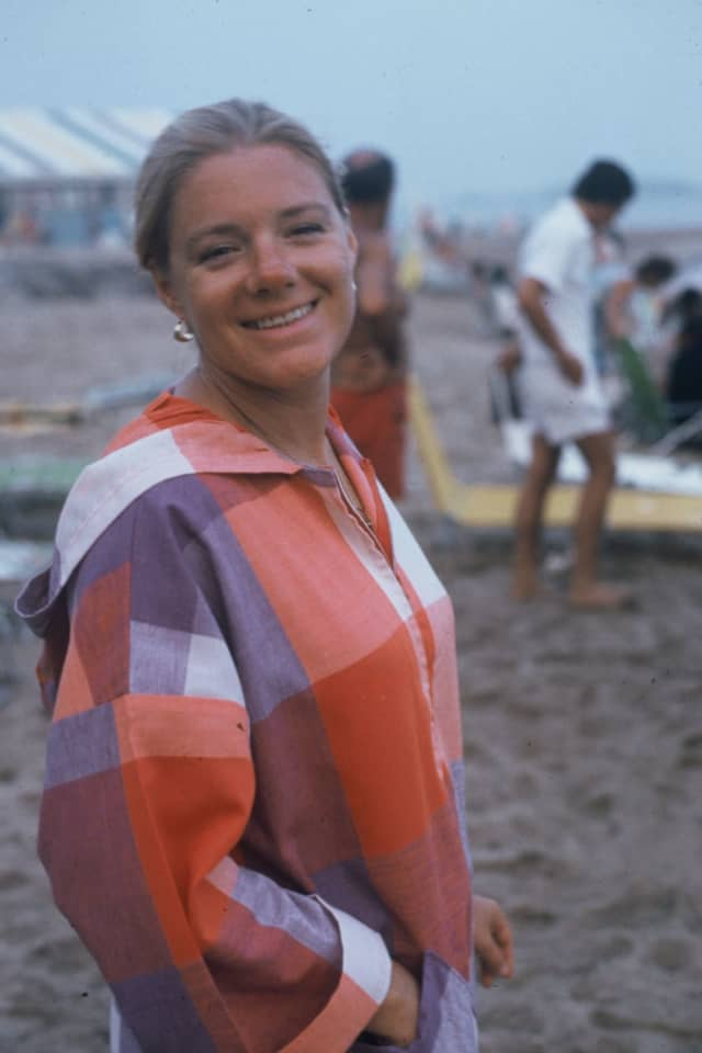 A longtime member of the Stamford Yacht Club, Patti Rockhill had a passion for sailing.