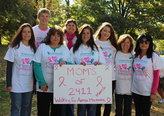 One of the many teams at the 2014 Support-A-Walk