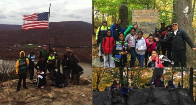 These are some of the photos of the Amani Charter School Hiking Club's climb up Anthony's Nose.