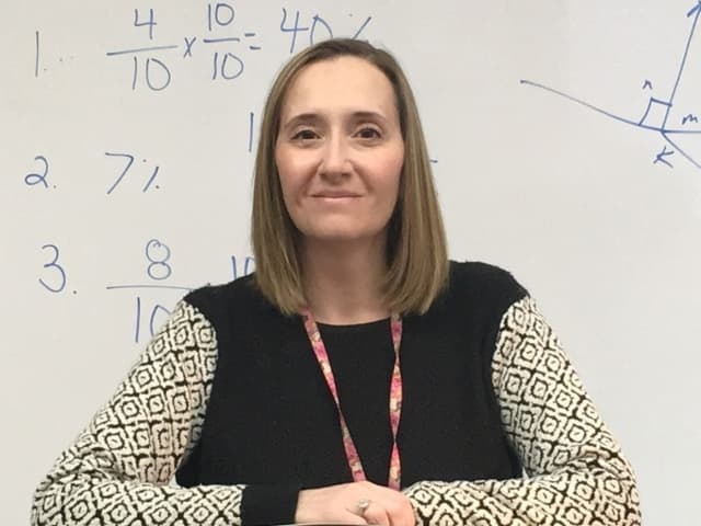"Thea Unagast has been named a ""Teacher Who Rocks"" by WDHA."