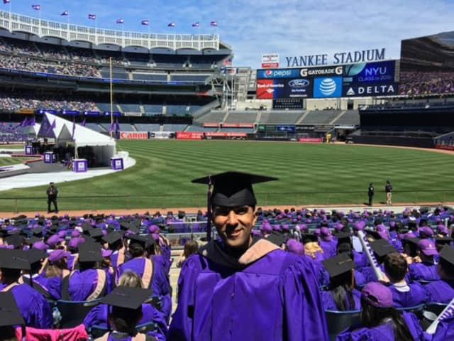 Mount Vernon Mayor Richard Thomas graduated from New York University Leonard N. Stern School of Business with his executive MBA. Commencement was held at Yankee Stadium.