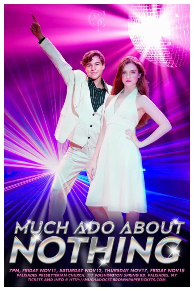 """The Children's Shakespeare Theatre in Palisades will perform the play, """"Much Ado About Nothing"""" set in a late-70s club. It opens Friday."""