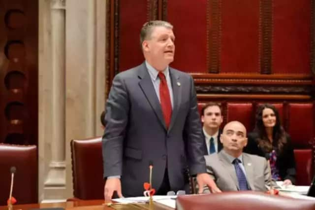 Sen. Terrence Murphy sponsored legislation passed by the state Senate this month that would toughen New York's sexual harassment laws.