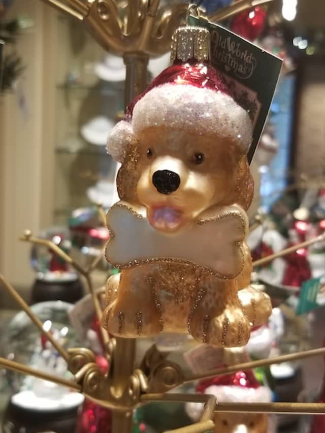 The Museum Store of the Greenwich Historical Society is filled with holiday merchandise. Courtesy Greenwich Historical Society.