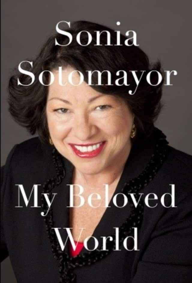 "Sonia Sotomayor's new book, ""My Beloved World"" will be discussed Oct. 26 at the Teaneck Public Library."