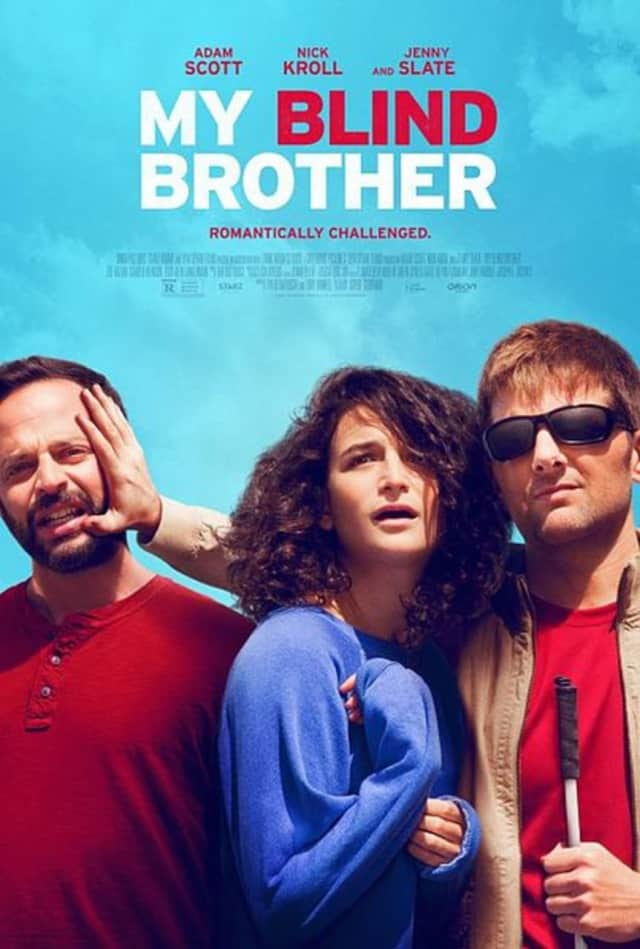 "In ""My Blind Brother,"" a blind champion athlete and local sports hero, and his unassuming brother Bill vie for the affections of a charming lady named Rose."