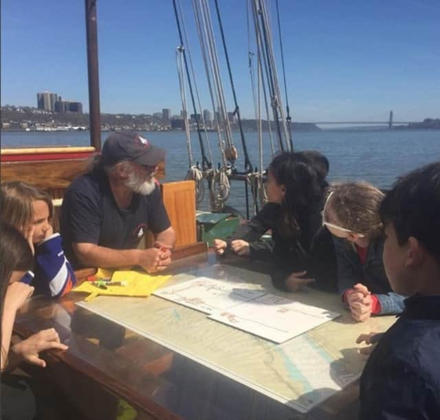 The Schooner Mystic Whaler has returned to the Hudson River for another season of teaching students and public sails.