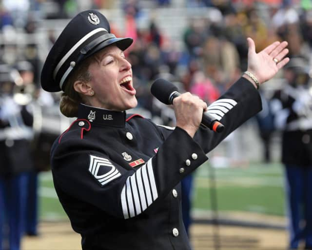 Master Sgt. MaryKay Messenger will perform with the Northern Dutchess Symphony Orchestra Feb. 3 in Hyde Park. Courtesy NDSO.