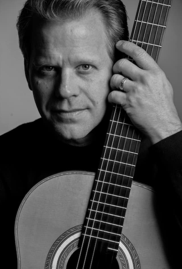 """Guitarist David Temple will be a special guest during """"Sand and Surf,"""" the Northern Dutchess Symphony Orchestra's June 15 pops concert. Courtesy Northern Dutchess Symphony Orchestra."""