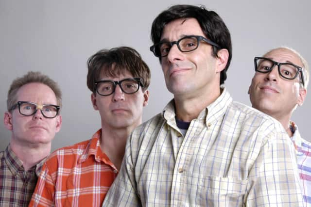 The Nerds play Sunday night at the East Rutherford Columbus Day festival.