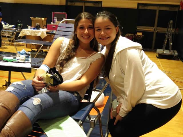 Briarcliff High School's National Honor Society blood drive, collected 85 pints for the New York Blood Center.