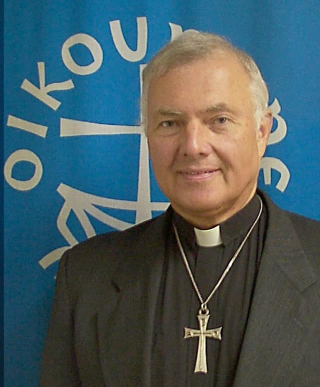 Reverend Skip L'Heureux, executive director of the Queens Federation of Churches.