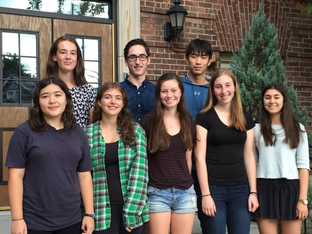 The eight Hastings High School students who were named Commended Students in the 2016 National Merit Scholarship Program.