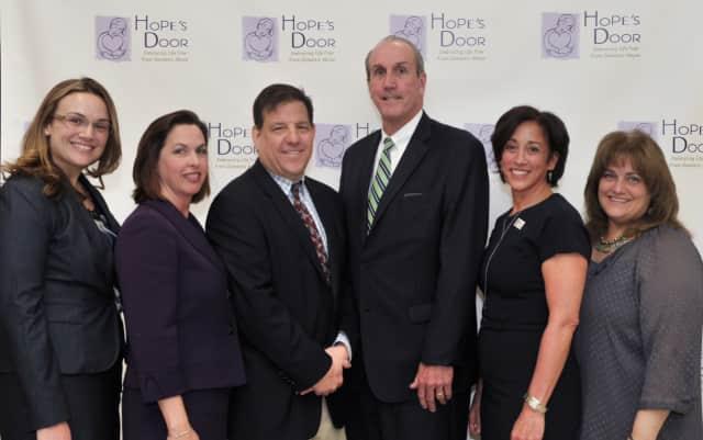 Sponsors and members of Hope's Door