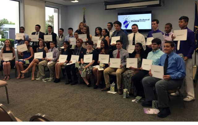 Thirty students were recently inducted into the National Technical Honor Society at the Center for Career Services.
