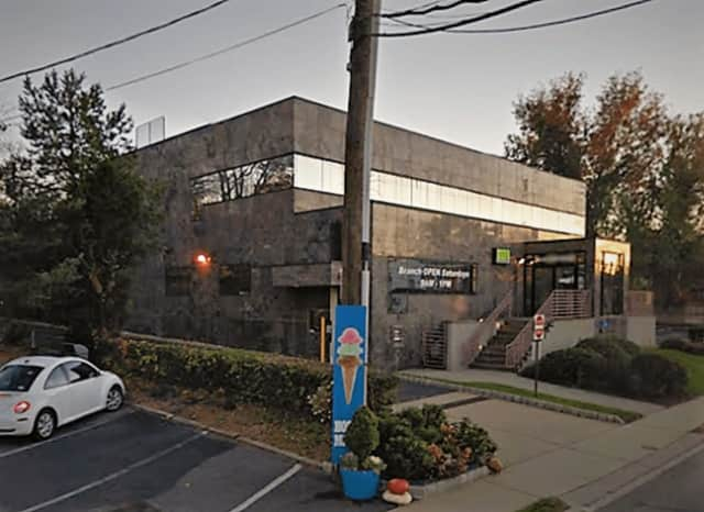 The NVE Bank on Grand Avenue near Route 4.