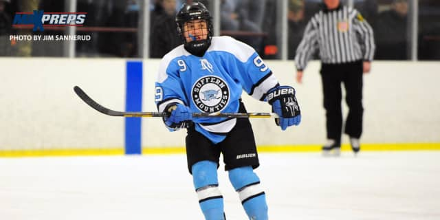 Suffern's Tim Patwell was one of the stars of the Mounties' big win over West Genesee.